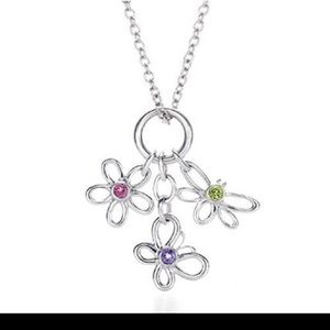 Tiffany necklace with three charms